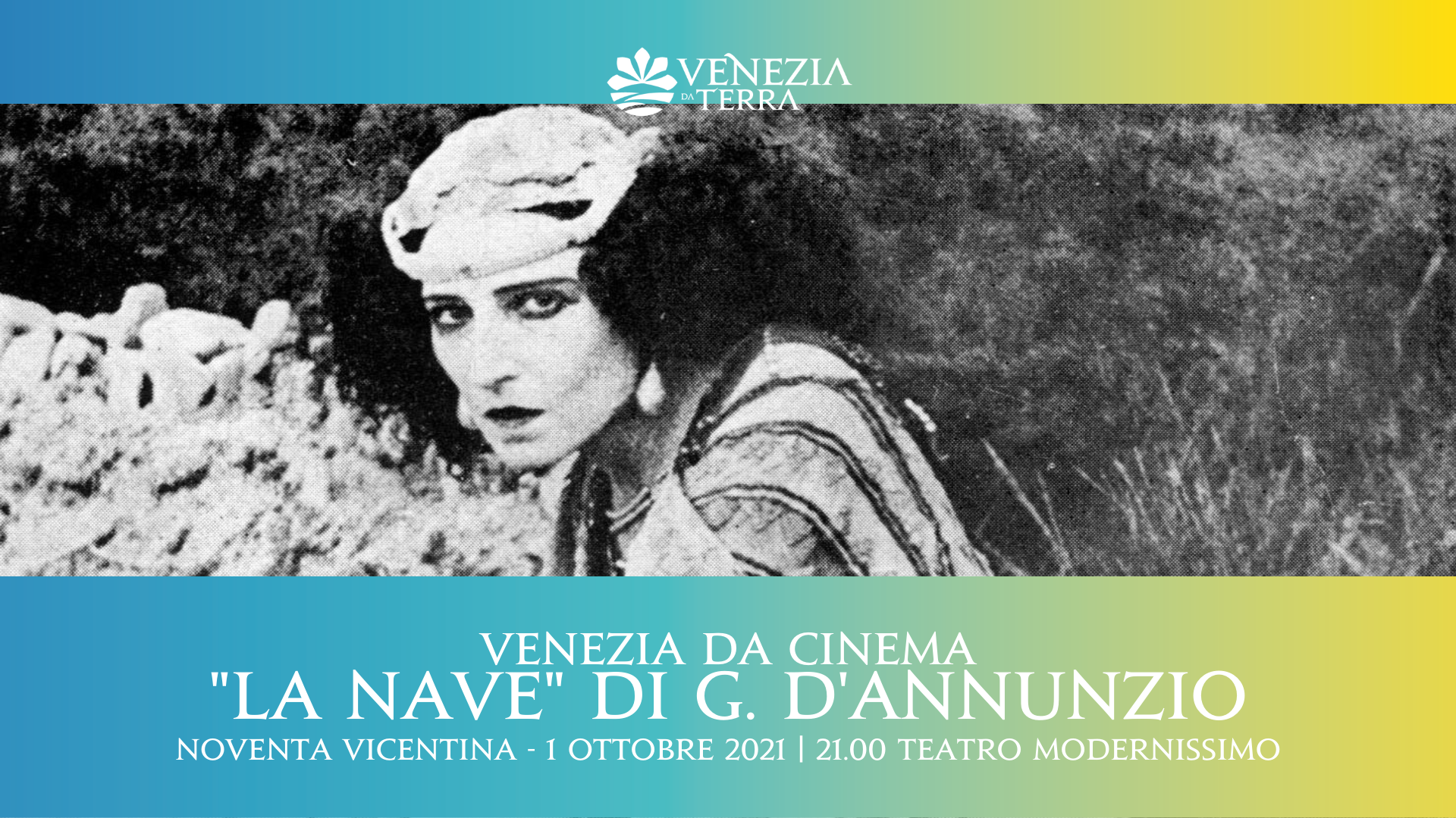 G. D'Annunzio, La Nave   Proiezione sequenze del film