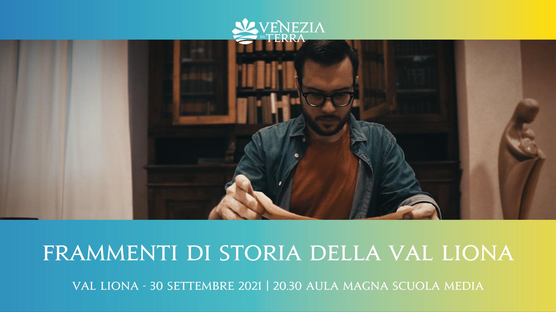 Frammenti di storia della Val Liona, conferenza con G. Florio (Unipd)